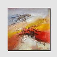 Dipinta a mano Astratto / Riproduzione / FantasiaModern / Classico / Stile europeo Un Pannello Tela Hang-Dipinto ad olio For Decorazioni