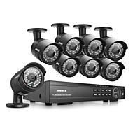 annke® 16CH 1080p HD DVR hdmi kamerový venkovní ir systém domácí video bezpečnostní kamery
