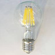1 pç kwbled E26/E27 10W / 12W 12 COB 1050 lm Branco Quente / Branco Natural A60(A19) edison Vintage Lâmpadas de Filamento de LEDAC