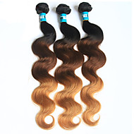 Halloween 3 Pieces Body Wave Human Hair Weaves Brazilian Texture Human Hair Weaves Body Wave