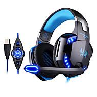 kotion כל מיקרופון rotatable מערכת רטט אוזניות סטריאו USB אוזניות המשחקים g2200 7.1 סראונד הוביל