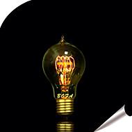 E26 / E27 60W A19 Edison Tungsten Wire 23 Water Droplets Around The Wire Lamp (Assorted Color)