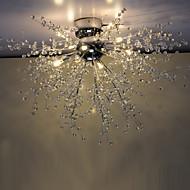 3 Lysestager ,  Globe Krom Feature for Krystal / LED MetalStue / Soveværelse / Spisestue / Læseværelse/Kontor / Børneværelse / Spillerum