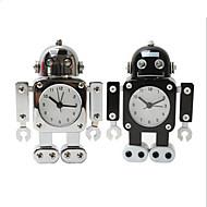 Robot Desk Alarm Clock  Home Table Decoration Gift for Children Mute Alarm Clock