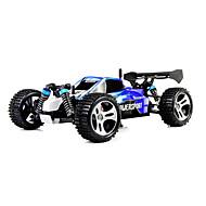 Passeggino WLToys A959 4WD 1:18 Elettrico con spazzola RC Auto 50KM/H 2.4G Rosso / Blu Pronto all'usoAuto di controllo remoto /