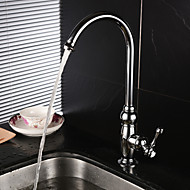 Centerset Single Handle One Hole with Chrome Kitchen faucet