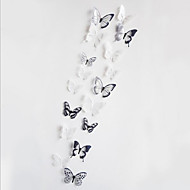 3D Crystal Butterfly Sitting Room Bedroom Wedding Celebration Wall Stickers in the Background 18 Medals