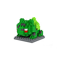 Grün ABS Bausteine DIY Spielzeug