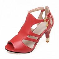 dámské boty kožené jaro / léto / slingback / gladiátora / Základní čerpadlo / pohodlí / novinkou / styly / open toe sa