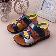 Boy's Sandals Spring / Summer Slingback / Open Toe / Sandals Leather Outdoor / Casual / Athletic Blue / Brown