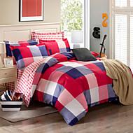 2016 New 100% Cotton Bedclothes 4pcs Bedding Set Queen Size Duvet Cover Set good qulity