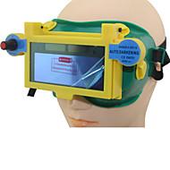 lassen blauwe zonne li batterij auto verduistering tig mig mma lasser ogen masker / goggle / ogen bril