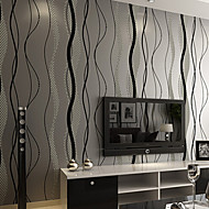 PALUTON Art Deco Wallpaper Contemporary Wall Covering,Non-woven Paper Simple Modern Moisture Permeability