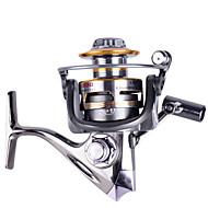 סלילי טווייה 5.2:1 12 מיסבים כדוריים ניתן להחלפהדיג בים / הטלת פיתיון / דיג קרח / Spinning / דייג במים מתוקים / אחר / דיג בפתיון / דיג