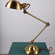 Copper table lamp hotel study desk lamp