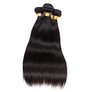 Az emberi haj sző Perui haj Ravno 6 hónap 4 darab haj sző