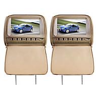 """deluxe 9 """"lettori DVD dell'automobile del poggiacapo e coperchio di protezione dello schermo"""