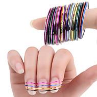 Punk-Folija Stripping Tape- zaPrst / nožni prst-6.5*5.2*3-30pcskom. -Other