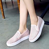Women's Shoes  Platform Platform / Comfort Loafers Outdoor / Dress / Casual Black / Pink / White