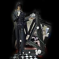 Black Butler Sebastian Michaelis 25CM Anime Toimintahahmot Malli lelut Doll Toy
