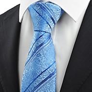 타이-줄무늬(블루,폴리에스테르)
