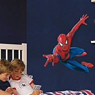 Wall Stickers Wall Decals, Cartoon Super Spider-Man Children Love PVC Wall Stickers