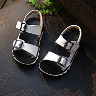 Boys' Shoes Outdoor / Casual Leather Sandals Black / Yellow / White