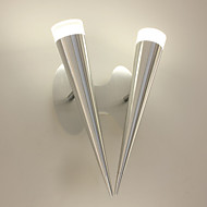 10W Wall Sconces LED / Bulb Included Modern/Contemporary Metal