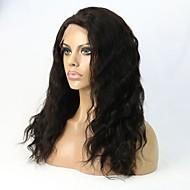 """8 """"24"""" del frente del cordón sin cola ondulado peluca de cabello humano / peluca llena del cordón para las mujeres"""