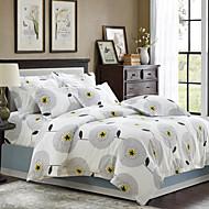 Leaf Cotton 4 Piece Duvet Cover Sets