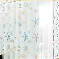 באופנה לעבות אמבטית מקלחת וילון PEVA אמבטית פרח עמידה למים צבעוניות