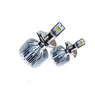 2ks 90waty modré pouzdro chladicí systém elantra vůz vedl reflektor sady do auta Philip-s LED světlomet kit h4 H13 9004 9007
