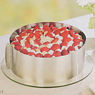 Baking Mould Stainless Steel Telescopic 6 to 12 Inch Cake Pan Round Mousse Ring