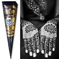 de color negro Shama henna conos de hierbas tatuaje temporal tinta cuerpo kit del arte mehandi