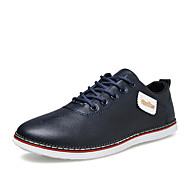 Men's Shoes Outdoor / Office & Career / Casual PVC Oxfords Black / Blue / White