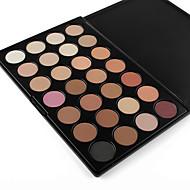 28 Paleta de Sombras Secos / Mate / Brilho Paleta da sombra Pó NormalMaquiagem Esfumada / Maquiagem para o Dia A Dia / Maquiagem de Festa