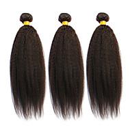 Az emberi haj sző Brazil haj Ravno 6 hónap 3 darab haj sző