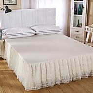 prinsesse blonder sengetæppe seng nederdel madras støvbeskyttelse dækning sengetøj sæt