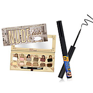 NUDE 'tude Eyeshadow Palette +the balm  Schwing Matte Eyeliner