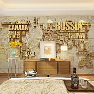 papel pintado / Mural Art Decó Papel pintado Contemporáneo Revestimiento de pared,Otro Sí