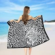 mote reaktiv print strandhåndkle, 39 av 70,8 tommer