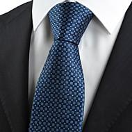 Puntíky-Kravata(Tmavě modrá,Polyester)