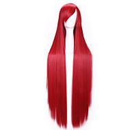 peluca cosplay pelucas largas rectas animados populares de la mujer pelo sintético