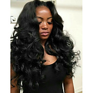 Afordable Glueless or Full Lace Front Wigs Classic Big Loose Wave 8A Indian Virgin Remy Human Hair Wigs for Women