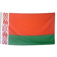 nye 3x5 fot store hviterussiske flagget polyester belarus nasjonal banner hjem innredning