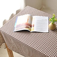 plaid motif nappe mode hotsale de haute qualité draps en coton table basse carrée couverture en tissu éponge