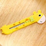 Giraffe Pen Art Knife(1 PCS Random Color)