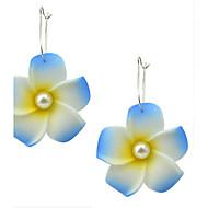 New Model Foam Made Flower Drop Earrings