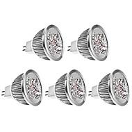 4w gu5.3 led spotlight mr16 4 hoog vermogen LED 400-450 lm warm wit dc 12 v 5 stuks