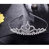 Dame / Blomsterpige Messing Headpiece-Bryllup / Spesiell Leilighet Diademer 1 Deler